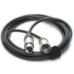 Cable Micro XLR 3m