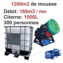 MACHINE A MOUSSE - BAVEUSE450